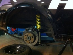 Coilovers Volvo 360 achter