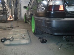 Volvo 960 coilovers