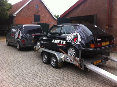 Transporter + Volvo 360