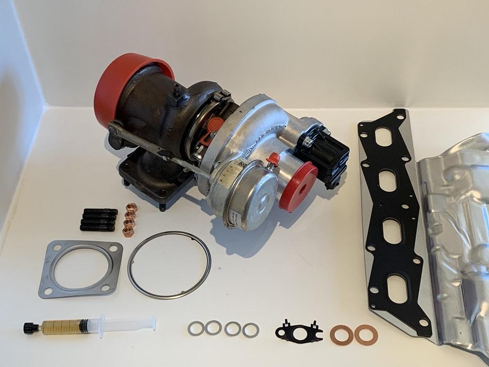 GT1446 GARRETT ABARTH turbo inclusief montageset