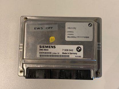 Dit is een EWS vrije ECU voor een BMW M54B25
