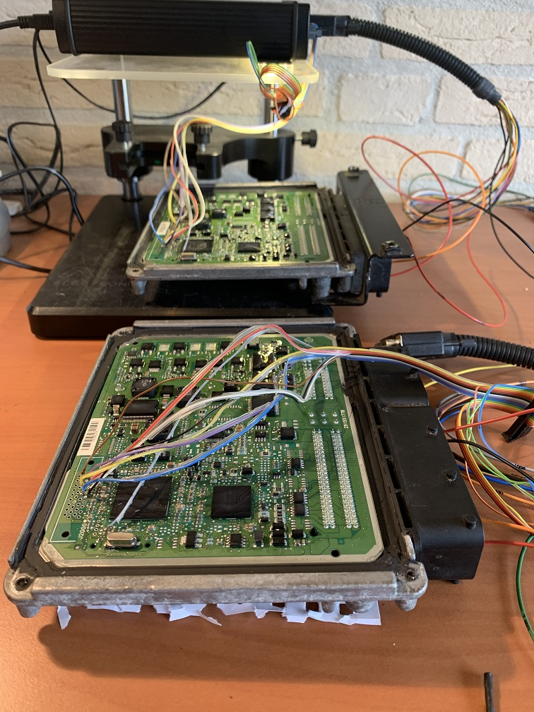 Klonen van de ECU van een polo 1.2 TDI met CFWA motor